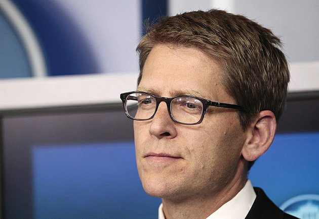 white-house-press-secretary-jay-carney-is-seen-the-daily-news-briefing-at-the-white-house-in-washington-monday-aug-29-2011