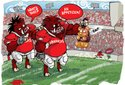 2011 Arkansas gameday cartoons