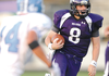 Fayetteville junior quarterback Austin Allen carries the ball Friday during the first half of the Dogs' win over Parkway West at Harmon Field. Go to photos.nwaonline. com to see more photos.