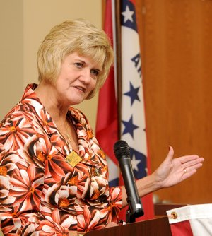 Becky Paneitz, NWACC president
