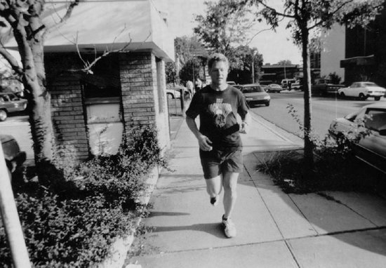 10 pics of Bill Clintons rad jogging outfits
