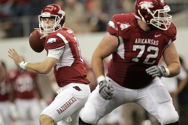 Razorback Quarterback Tyler Wilson will face number 15 Auburn on Saturday.