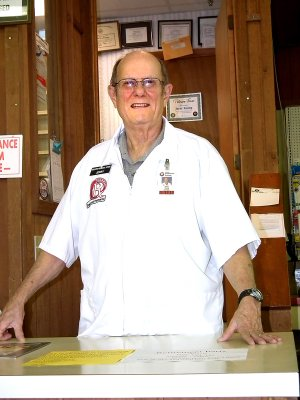 Jerry Young, pharmacist at the Decatur General Store, is retiring after a career spanning 50 years.