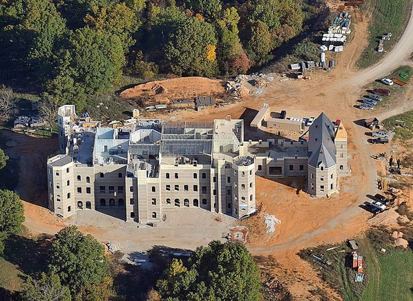 Michael Woods The72000 Square Foot Pensmore Mansion Located Between Springfield And Branson Missouri