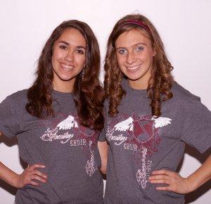 Jessica Austad and Kaylyn Cripps