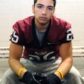Manny Tejada, a senior at Springdale High School, has been playing football since he was in eighth-g...