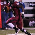 Rahmon Taylor of Springdale High School has a breakaway run Friday leading to a touchdown in the sec...