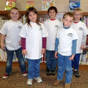 Glenn Duffy Elementary School in Gravette who are recognized as PAWS
