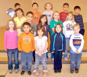 Shining Stars at Gentry Primary School for the week of Nov. 14-18