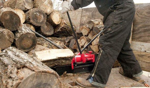 wood split