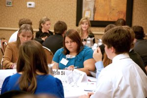 Jayme Burden was one of five Decatur students to participate in the student congress earlier this month.