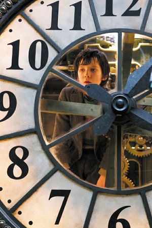Asa Butterfield stars as Hugo Cabret in Hugo.