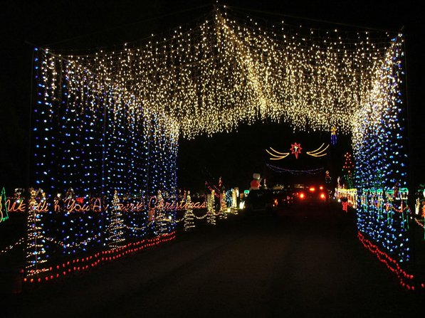 Photo by Sam Finney—                                                                                         Just three miles north of Crossett on Highway133 North, you'll find a winter wonderland from Nov. 24-Dec. 31, 6-10 p.m. each night. With over a million lights, animated scenes, snow machines, a drive-through tunnel of lights, laser light