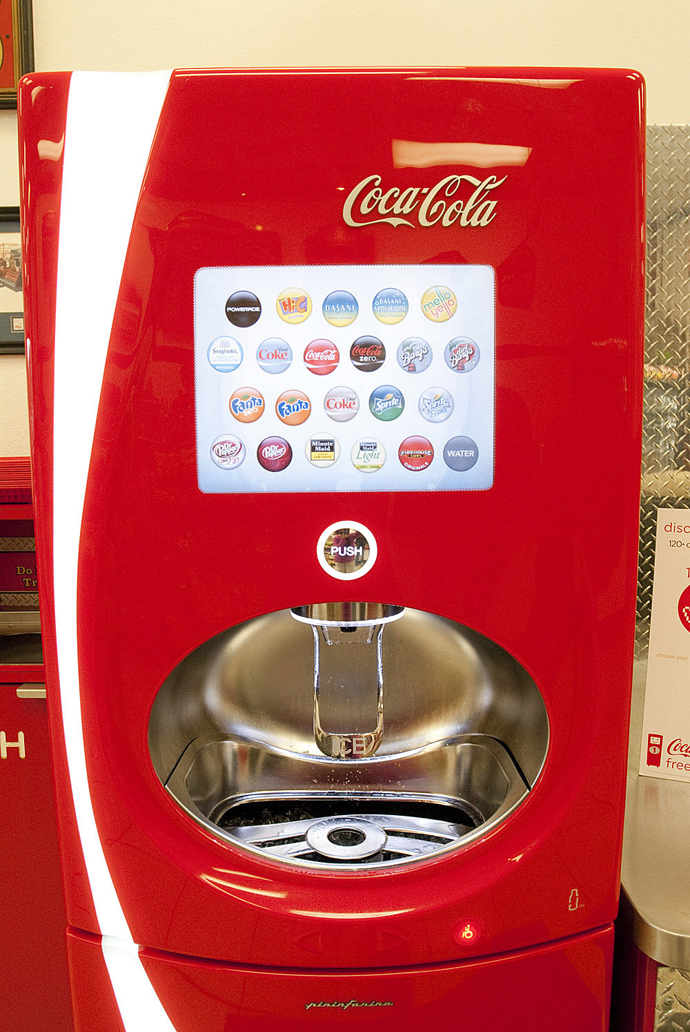 coke freestyle machine for home