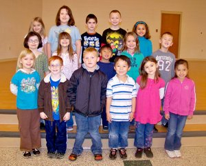 Shining Stars at Gentry Primary School for the week of Dec. 5-9