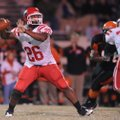 Farmington quarterback Deon Clay, the NWA Media Small Schools Player of the Year, led the Cardinals ...