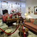 Items from a bedroom where Michael Jackson was living when he died were on exhibit Sunday, Dec. 11, ...
