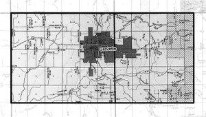 Map of Gravette's Planning Jurisdiction