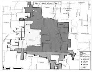 Proposed Ward Boundary Option 1