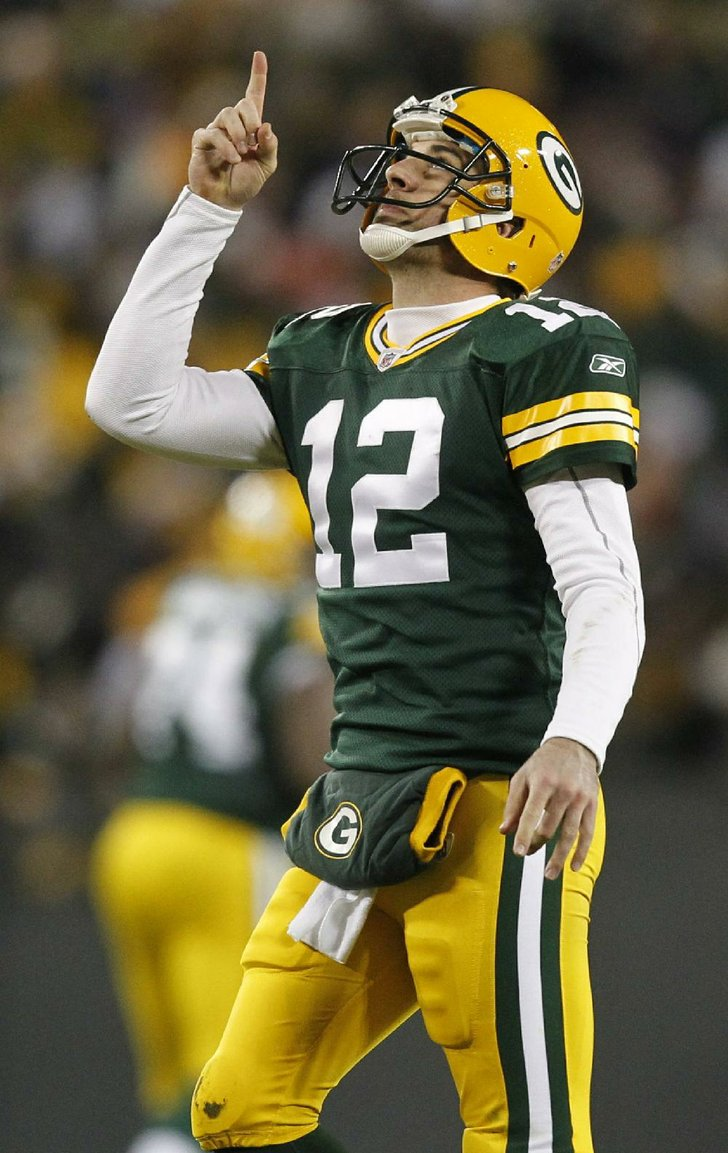 Photo By ASSOCIATED PRESS Green Bay Packers Quarterback Aaron Rodgers