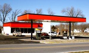 "New station/convenience store, Gravette ""C"" Store."