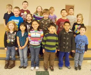 Shining Stars at Gentry Primary School for the week of Jan. 9-13