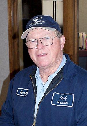 Earnest Wells was recognized on retirement Jan. 13.