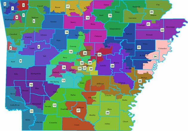 May 7 Hearing Set For Arkansas Redistricting Lawsuit
