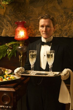 Hotel footman Albert (Glenn Close) is as reliable and forgettable as an old oak sideboard in the period tragedy Albert Nobbs.