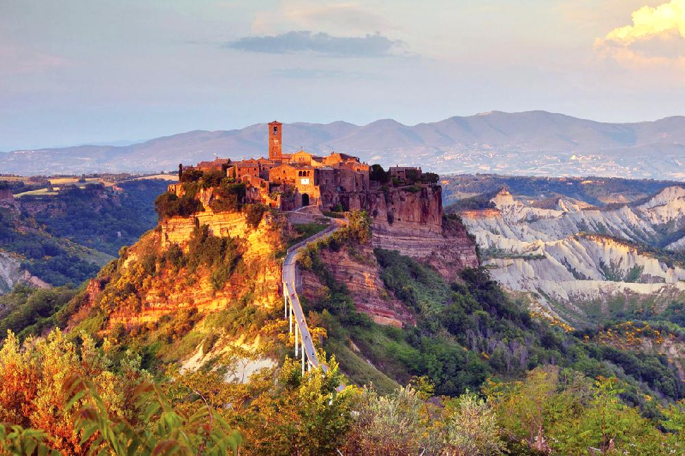 On a hill far away a bit of italian heaven - Civita di bagno ...