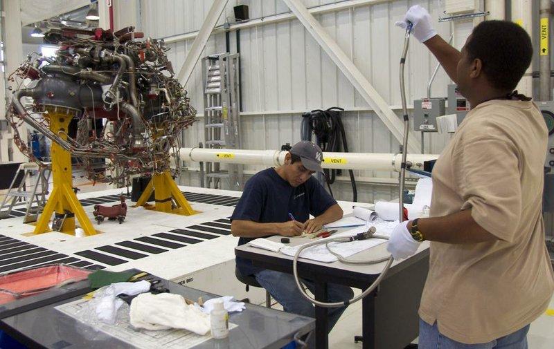 Rocket-engine maker up for sale once again