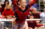 Arkansas gymnast Jaime Pisani is ranked No. 1 nationally in the all-around and on floor exercise, and has won 13 of 15 individual events over the past three meets.