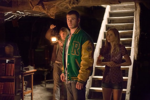 in-this-film-image-released-by-lionsgate-from-left-fran-kranz-chris-hemsworth-and-anna-hutchison-are-shown-in-a-scene-from-the-cabin-in-the-woods