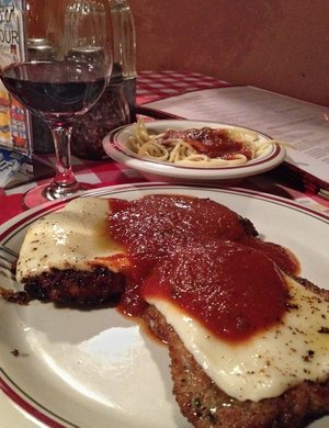 If I tell you the Veal Roma at The Villa is the best in the city, don't shoot me.