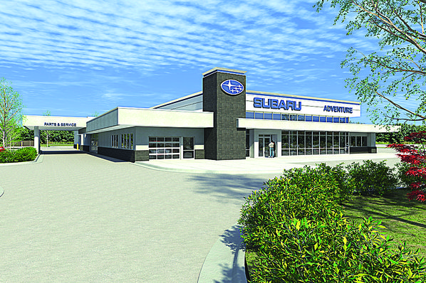 local subaru dealership sets move to new facility nwadg. Black Bedroom Furniture Sets. Home Design Ideas