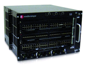 IK Electric uses this energy-efficient Enterasys S-Series Internet Protocol network infrastructure equipment — which is ideal for large organizations such as school districts, colleges and businesses — with numerous users of the IP network
