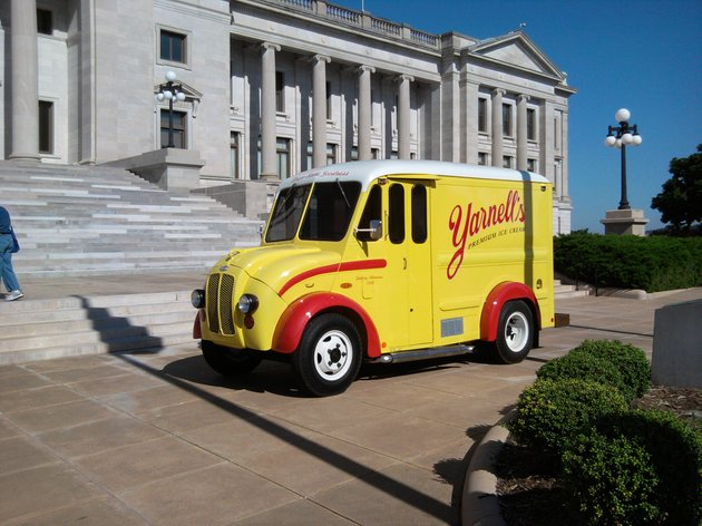 a-yarnells-truck-sits-outside-the-state-capitol-on-thursday-morning-the-ice-cream-company-long-a-staple-in-arkansas-before-it-closed-in-2011-is-back-in-production