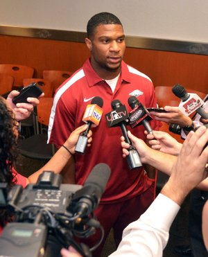 Arkansas running back Knile Davis says there already has been a change in the mood of the Razorbacks, but he doesn't think that is a bad thing.
