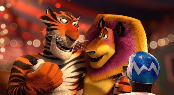 madagascar 3 roars to top of box office nwadg. Black Bedroom Furniture Sets. Home Design Ideas