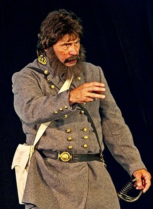 "Doug Mishler as Gen. Thomas ""Stonewall"" Jackson will ""headline"" the 12th annual Natural State Chautauqua this week at the Arkansas Museum of Natural Resources in Smackover."