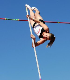Arkansas pole vaulter Tina Sutej says she has unfinished business heading into NCAA Outdoor Championships on Wednesday before competing for Slovenia in the Olympic Games this summer.