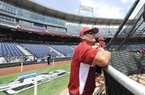 Arkansas Coach Dave Van Horn will see a familiar face in the opposing dugout when his team faces Kent State today at the College World Series. Van Horn and Kent State Coach Scott Stricklin became friends last year while serving on the staff of Team USA's collegiate team.