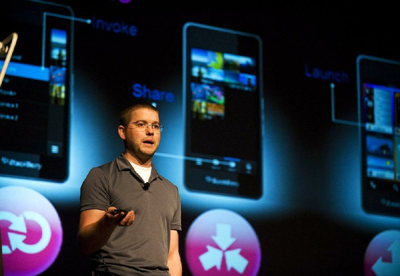 BlackBerry 10 phones get touch screen