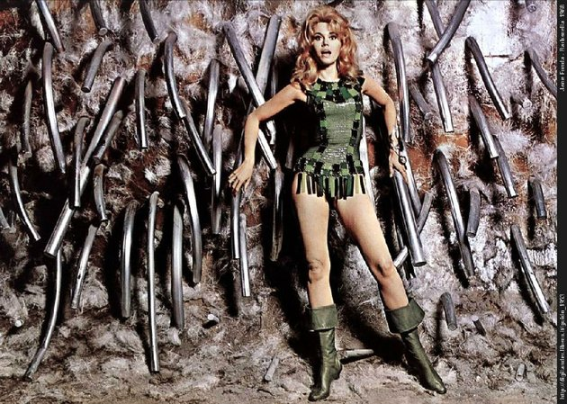 jane-fonda-impersonating-a-female-stars-in-the-high-camp-sci-fi-cult-classic-barbarella-from-1968
