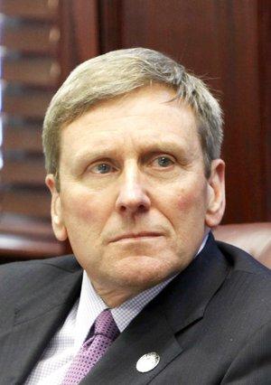 Former UCA president Allen Meadors in 2011