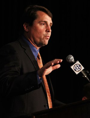 Florida Coach Will Muschamp, starting his second season with the Gators, said the first year was frustrating, disappointing and didn't meet the expectation level at the school.