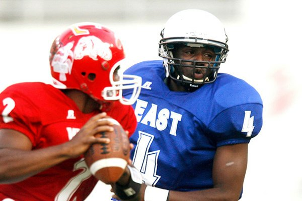 A.J. Turner had 171 tackles as a linebacker for East Poinsett County. He committed to Arkansas during the 2011 spring game and kept his commitment despite a late push from Arkansas State.
