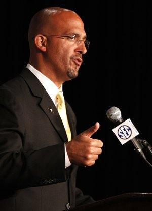 Vanderbilt Coach James Franklin and the Commodores have 16 starters returning from last year's team that finished 6-7.