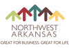 A new logo that will be used to promote Northwest Arkansas.