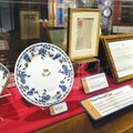 A hundred years after the great oceanliner sank, artifacts from the Titanic are on exhibit in Branso...